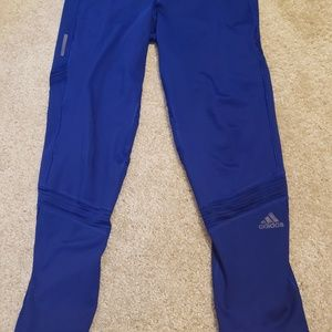 Adidas blue Leggings size Large